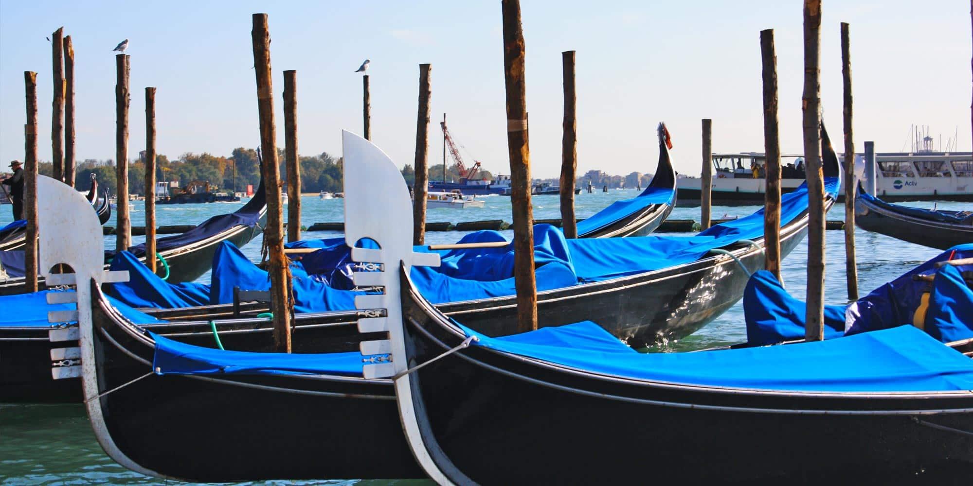 Italia Venecia Gondala