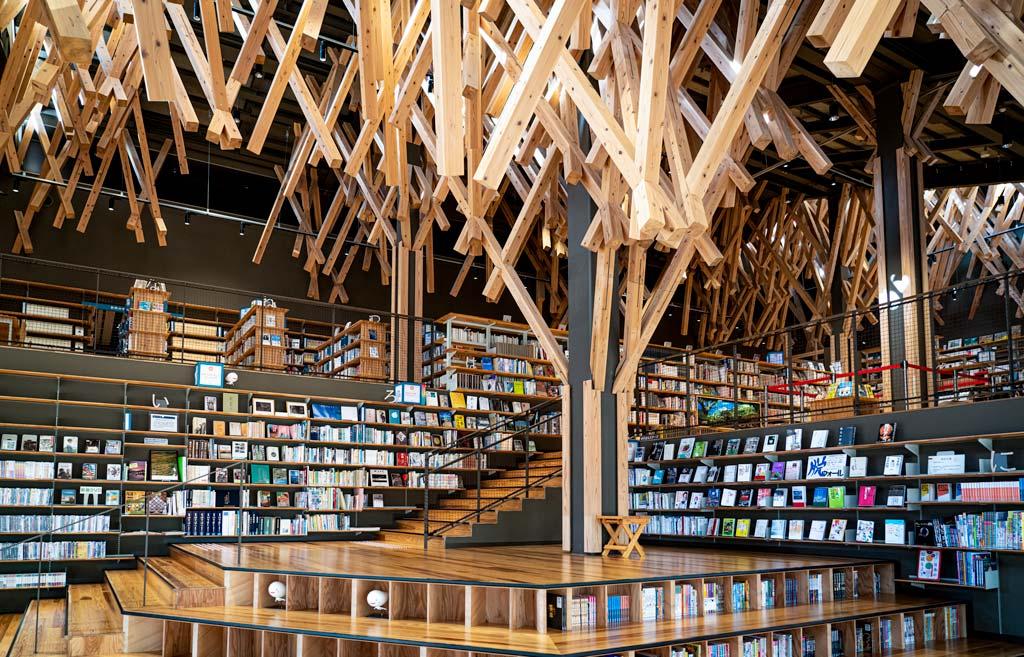 Biblioteca Comunitaria Yusuhara, Kochi, Japón