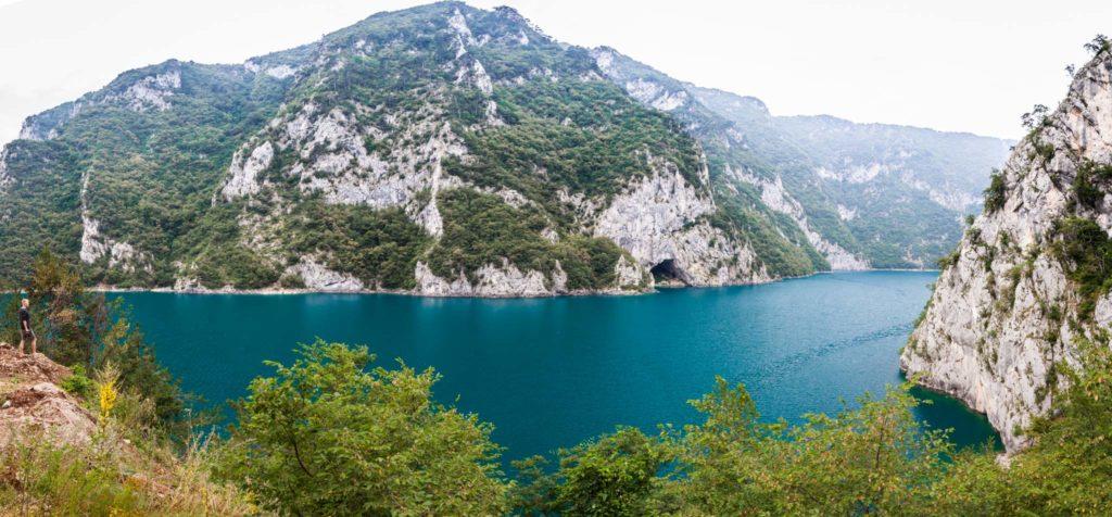 Increíbles vistas de la carretera de Montenegro
