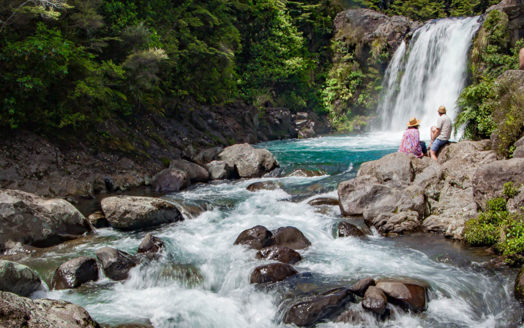 Tawhai Falls, Tongariro