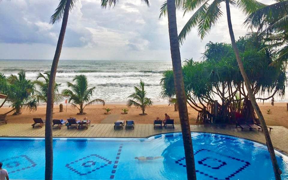 Piscinas de hoteles en Sri Lanka