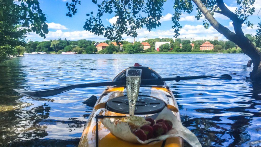 Aventuras en Kayak en Estocolmo