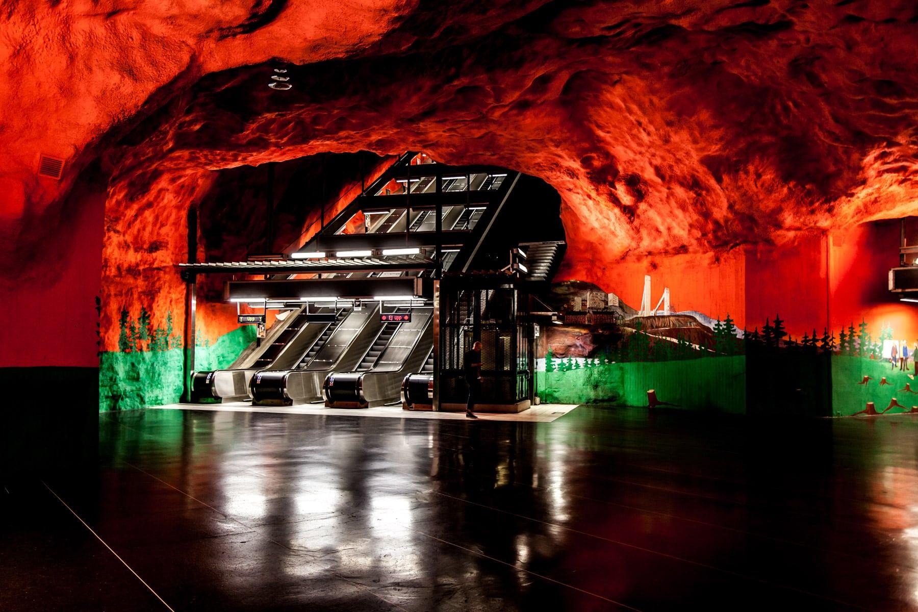 Sistema Subterráneo de Estocolmo