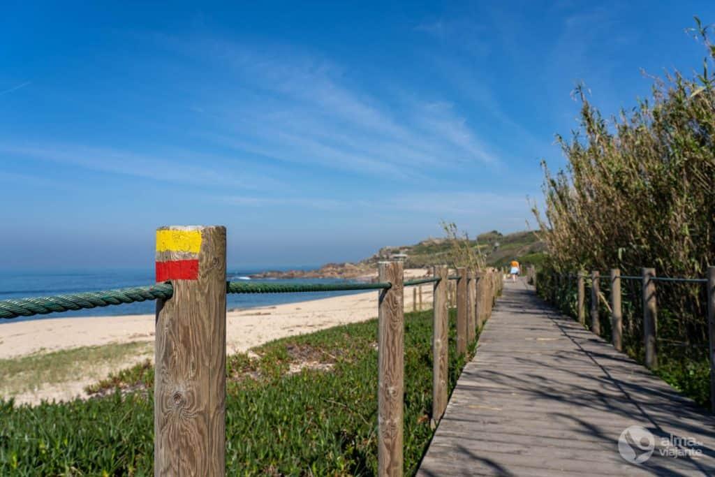 Pasarelas de Vila do Conde: Playa labruge