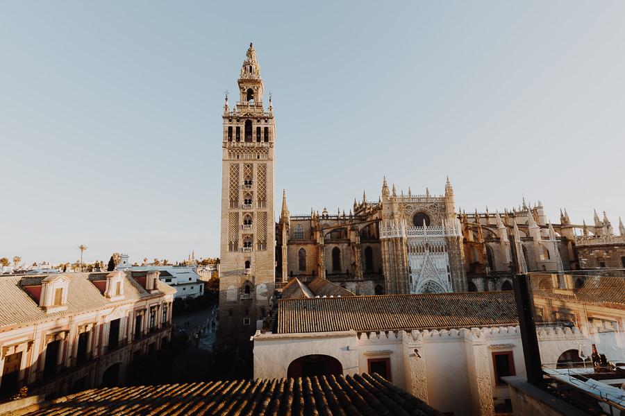 Hotel EME Catedral vistas de la Catedral de Sevilla