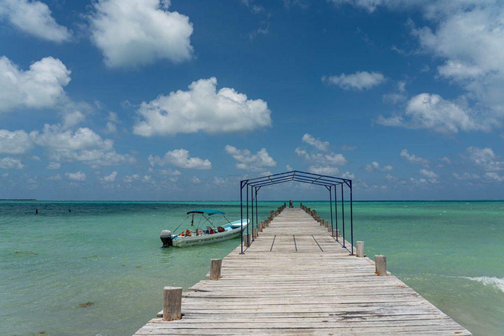 Muelle de Punta Allen