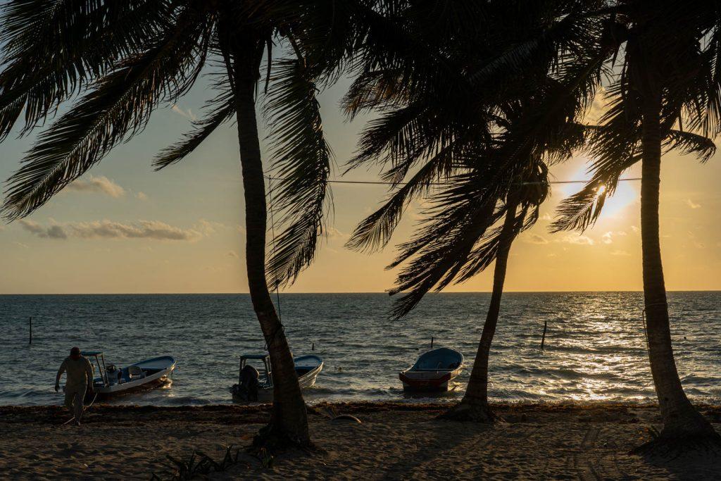Playa de Punta Allen, México