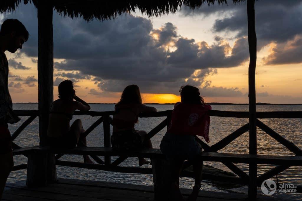 Cosas que hacer en Punta Allen: ver la puesta de sol