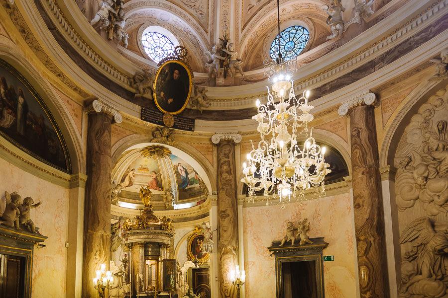 Capilla superior, Oratorio de la Santa Cueva, Cádiz.
