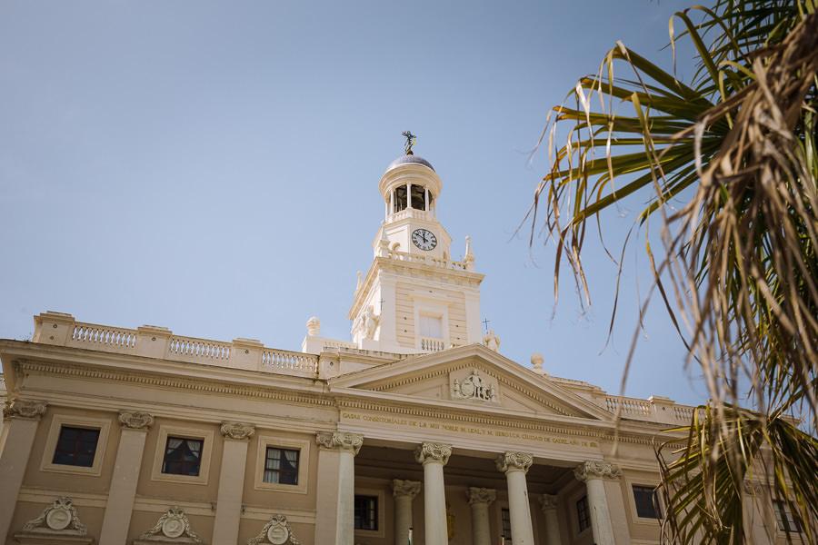 Plaza de San Juan de Dios, Cádiz, España.