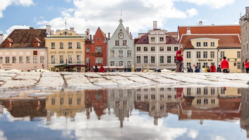 Plaza de la Ciudad Vieja de Tallin