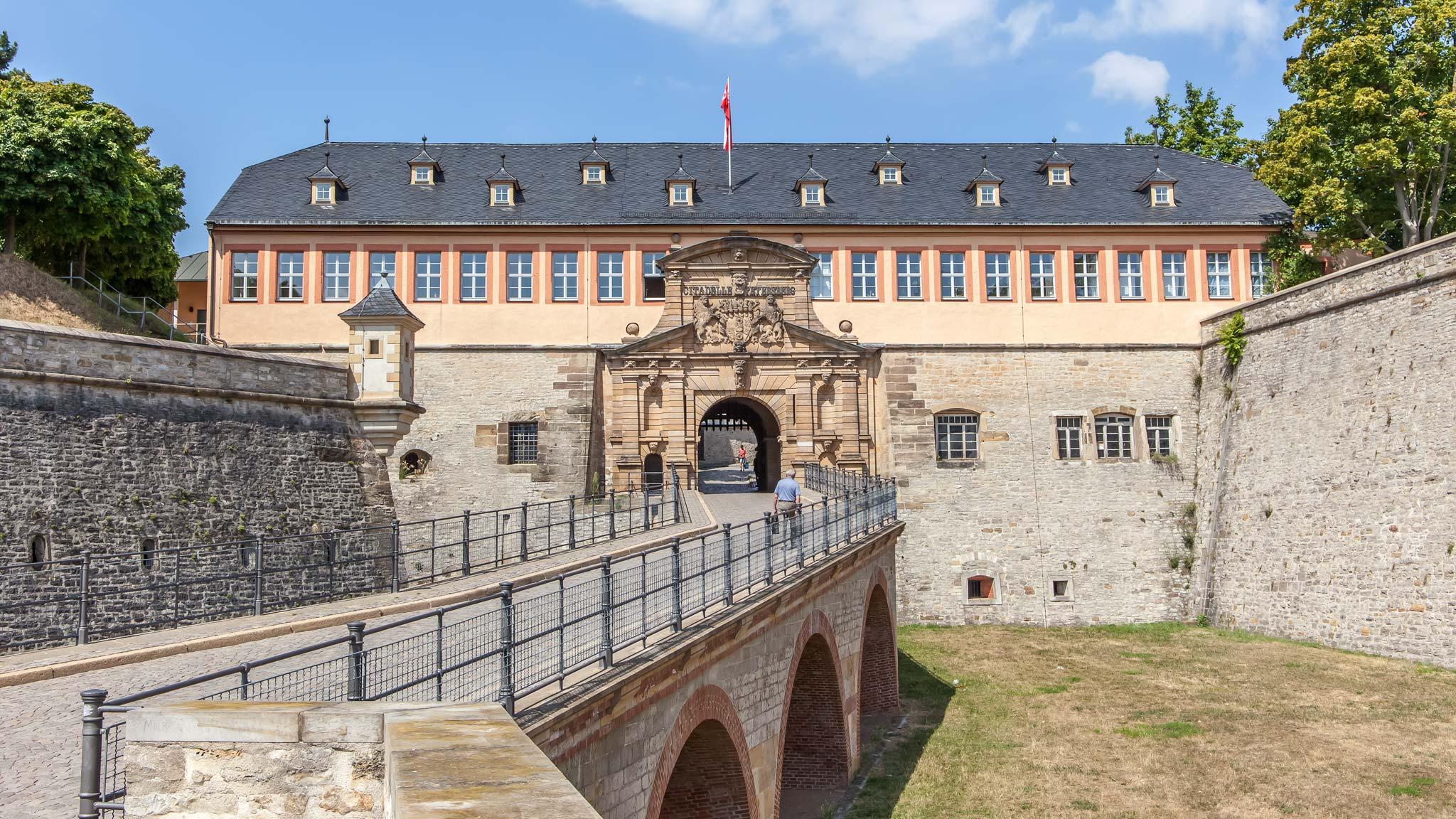 ciudadela Erfurt Turingia