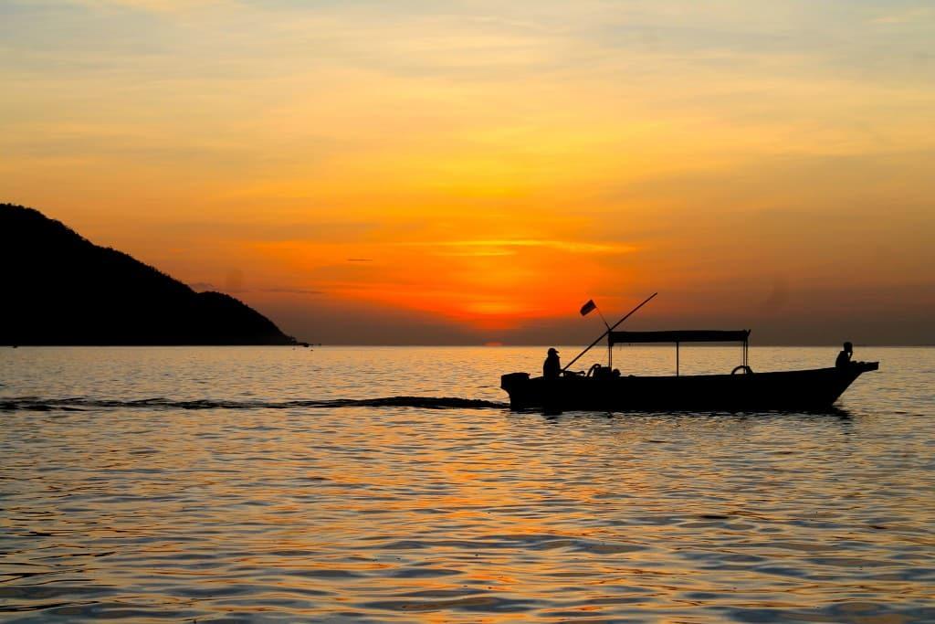 Puesta de sol de Raja Ampat