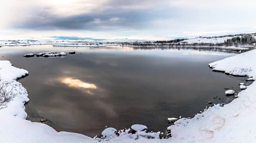 Fotografía de Invierno de Islandia