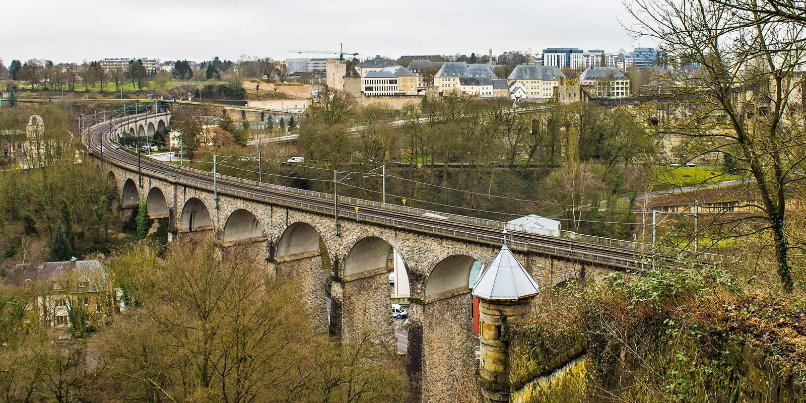 Vistas de la Ciudad de Luxemburgo