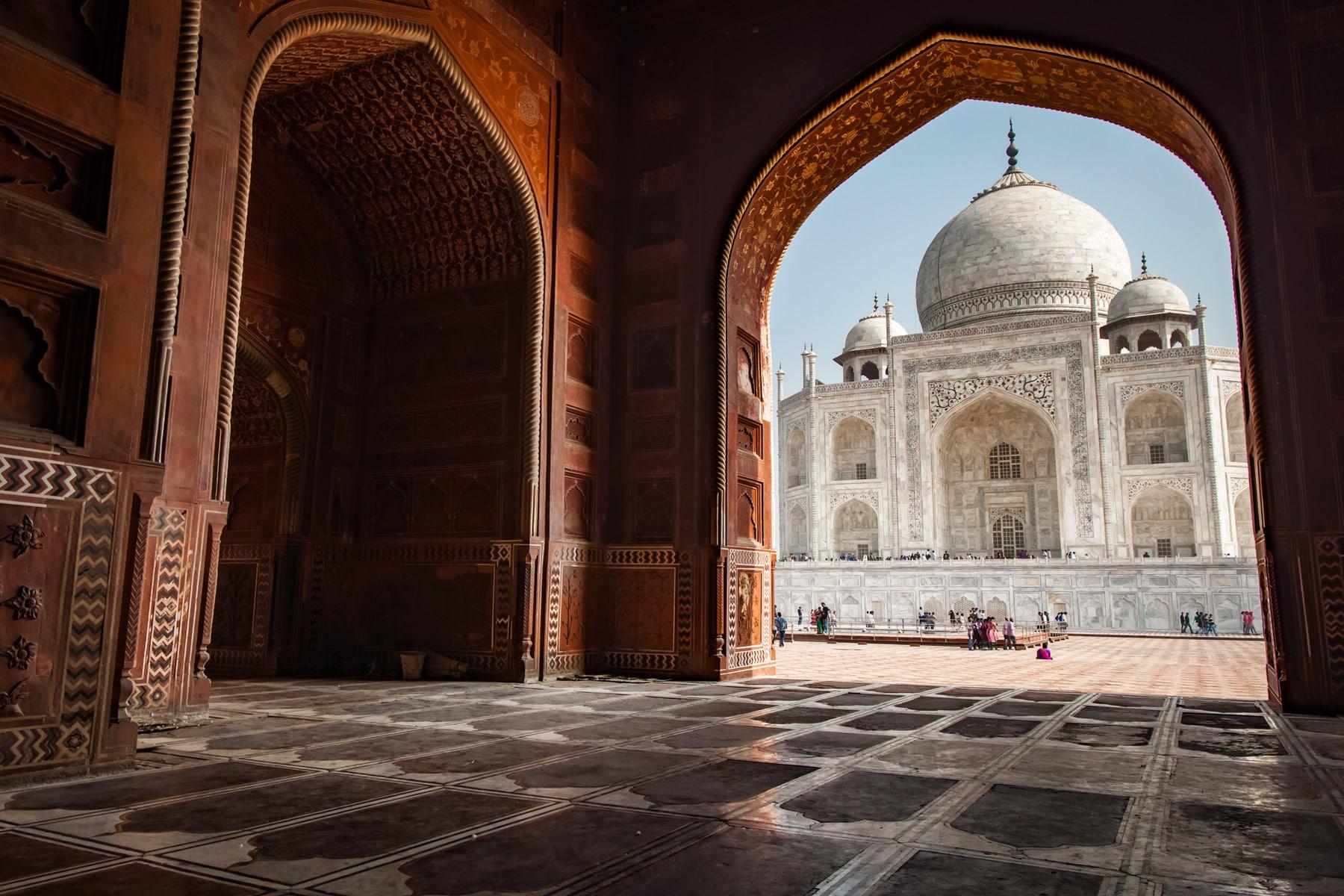 Consejos de Fotos del Taj Mahal