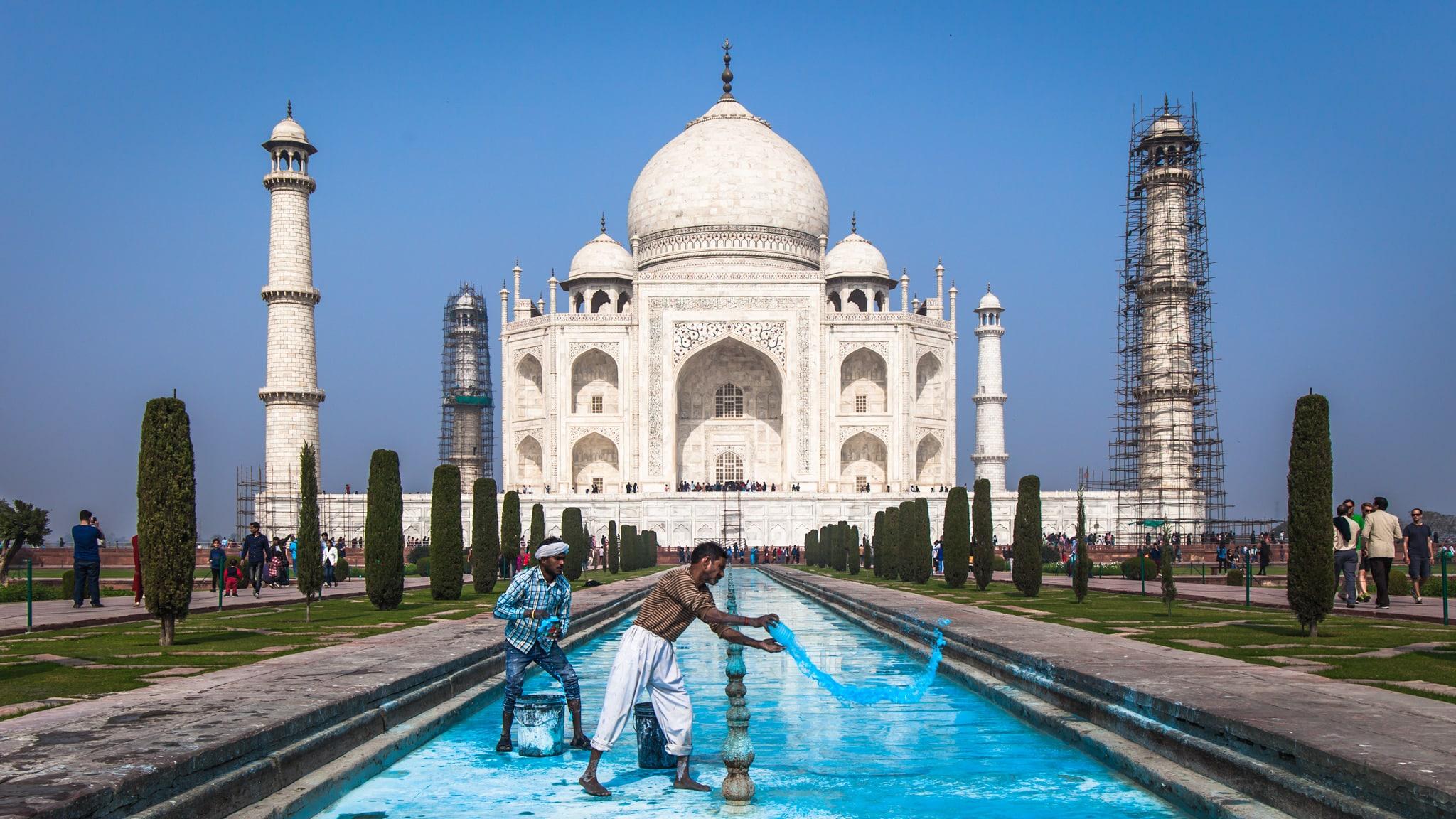 Taj Mahal Fotografía