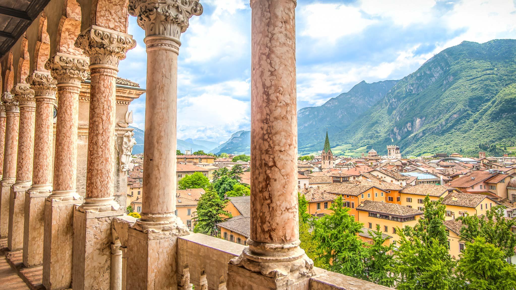 Vistas desde el Castillo de Buonconsiglio
