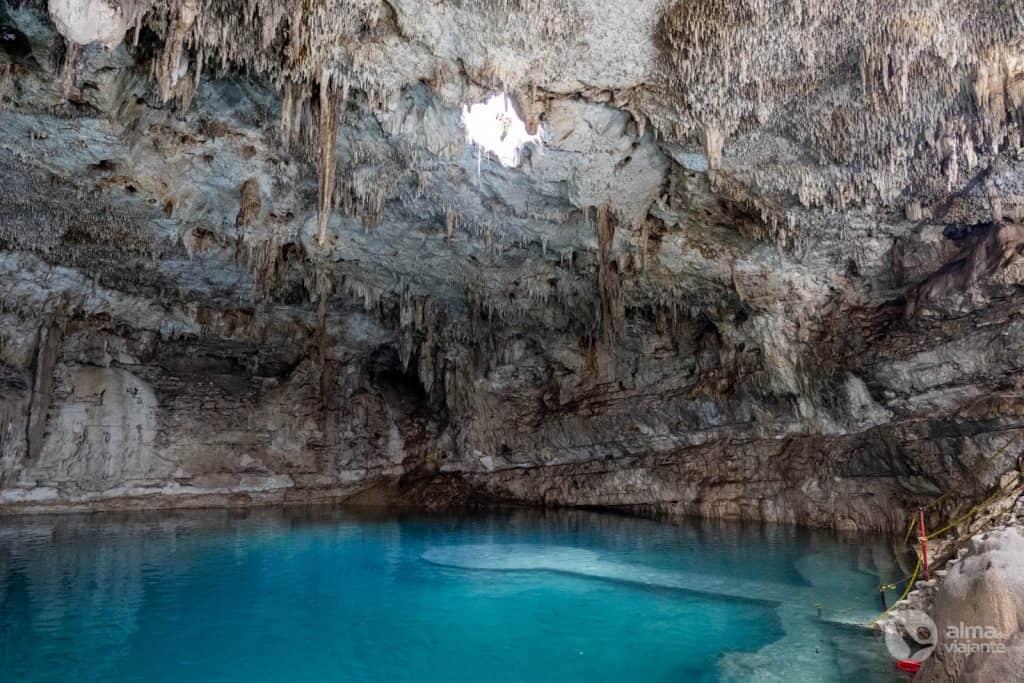 Visita el cenote suytun (sin turismo)