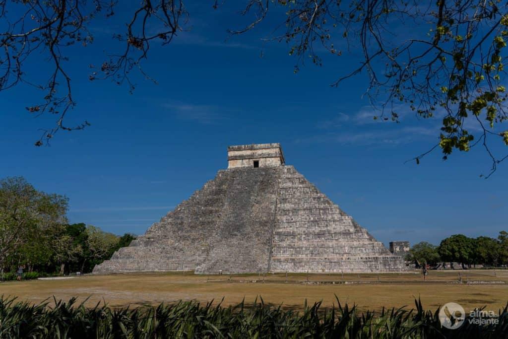 Qué visitar en Chichén-Itzá: pirámide de Kukulcán.
