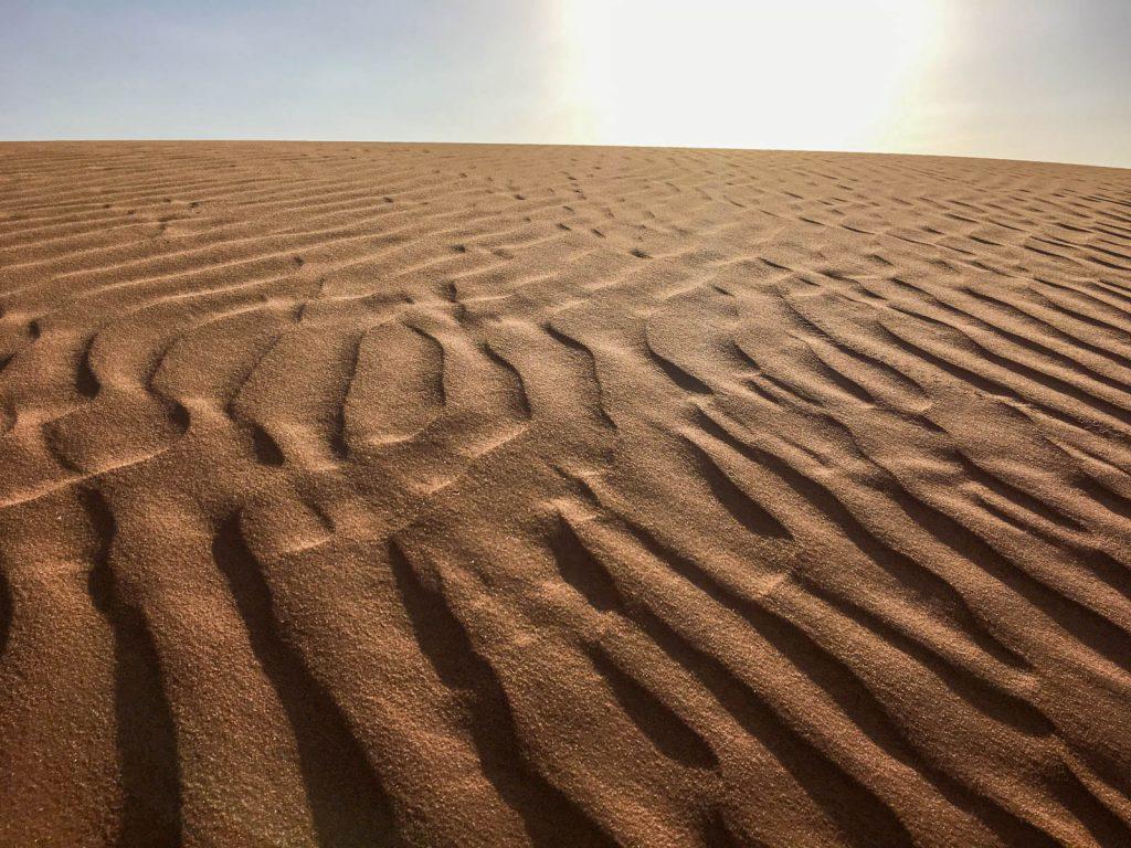 Desierto cerca de Riad, Arabia Saudita