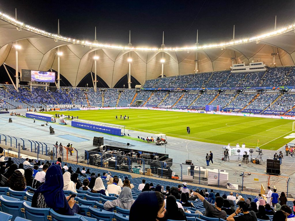 Estadio de fútbol en Riad