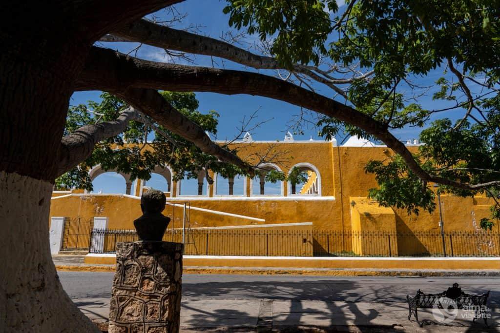 Centro histórico de Izamal, la Ciudad Amarilla